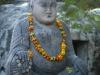 Buddisti-Statua di Budda con scoiattolo India  Ph Christian Penocchio